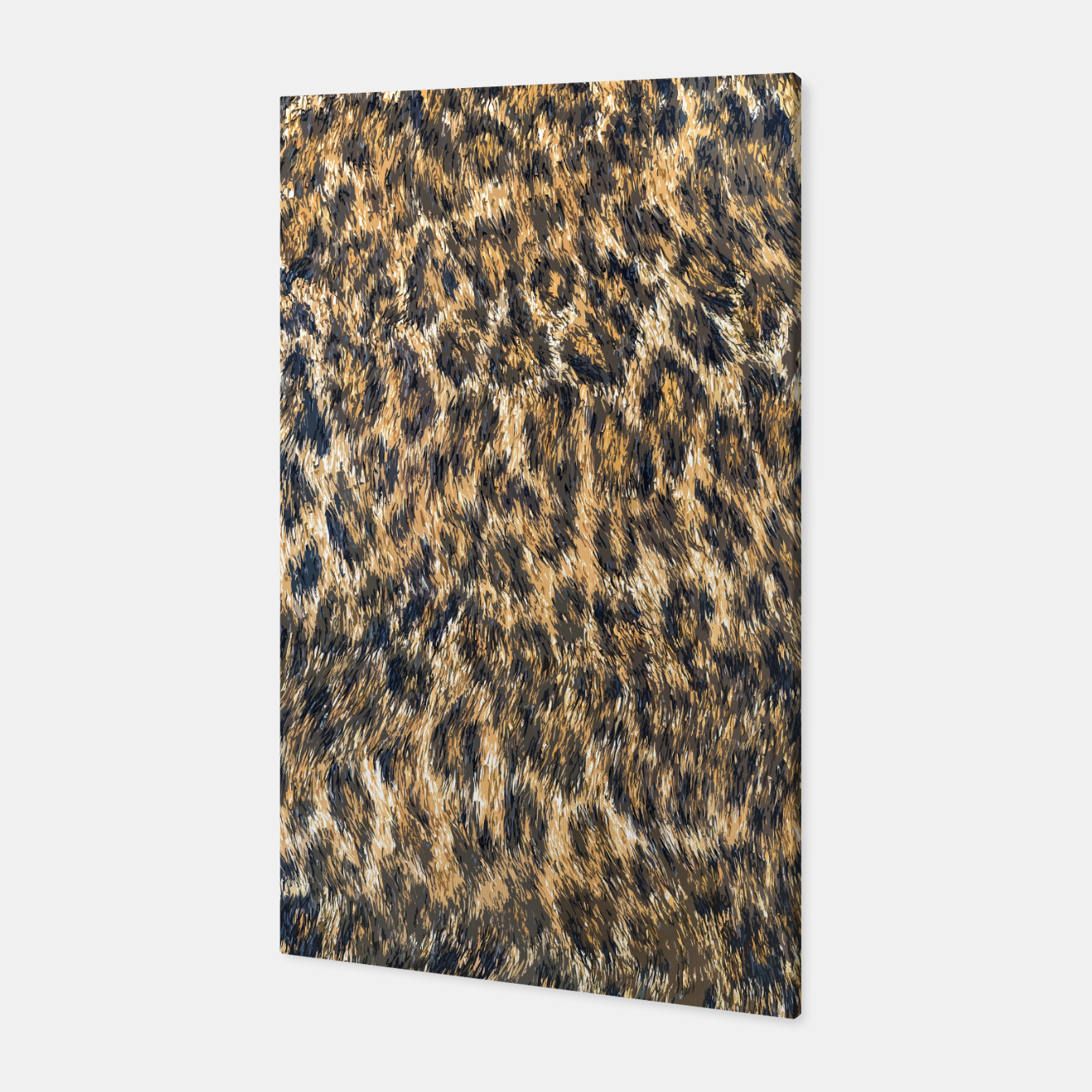 Foto Leopard Cheetah Fur Wildlife Print Pattern Canvas - Live Heroes