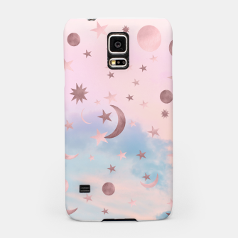 Thumbnail image of Pastel Starry Sky Moon Dream #2 #decor #art Handyhülle für Samsung, Live Heroes
