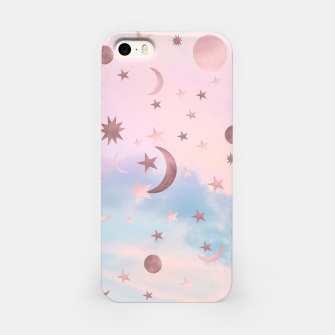 Thumbnail image of Pastel Starry Sky Moon Dream #2 #decor #art iPhone-Hülle, Live Heroes