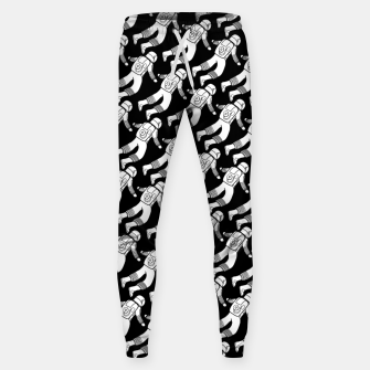 Spaceman pattern Sweatpants miniature