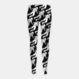 Thumbnail image of Spaceman pattern Girl's leggings, Live Heroes