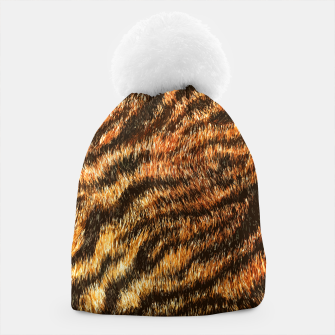 Thumbnail image of Bengal Tiger Fur Wildlife Print Pattern Beanie, Live Heroes