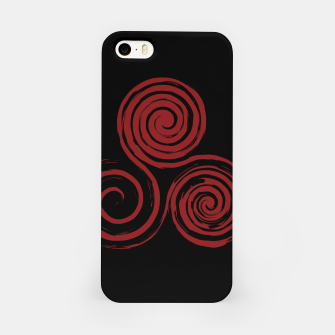 Thumbnail image of Red Triskelion Pagan Wicca Obudowa iPhone, Live Heroes