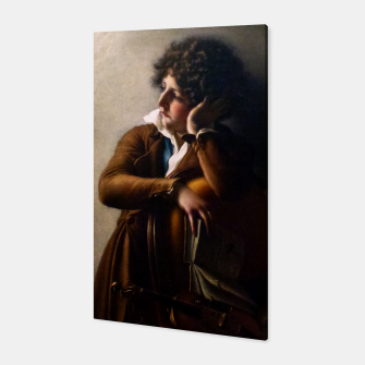 Thumbnail image of Portrait of Benoît-Agnes Trioson by Anne-Louis Girodet de Roussy-Trioson Canvas, Live Heroes
