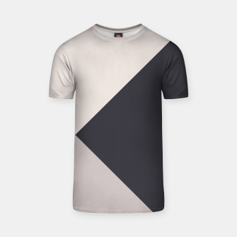 Miniature de image de Neutrals Geometric #1 #minimal #decor #art T-Shirt, Live Heroes
