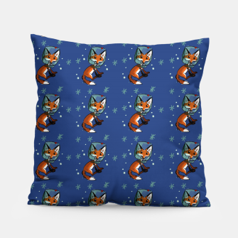 Thumbnail image of star fox pattern BLUE Almohada, Live Heroes