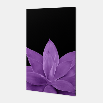 Thumbnail image of Purple Agave #1 #tropical #decor #art Canvas, Live Heroes