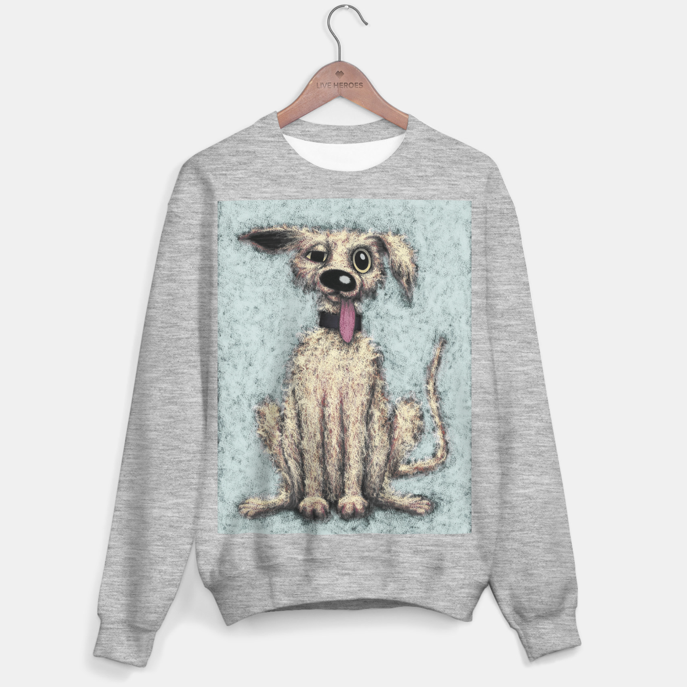 Image of Fluffy the dog Sweater regular - Live Heroes