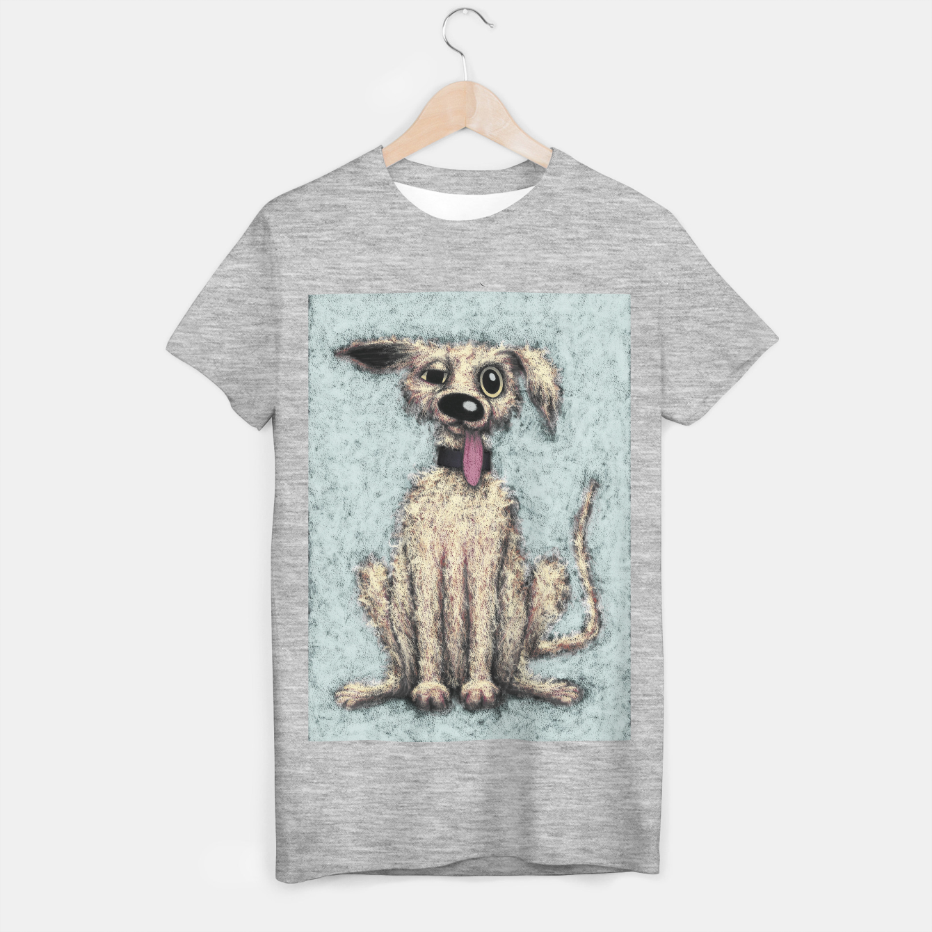 Image of Fluffy the dog T-shirt regular - Live Heroes