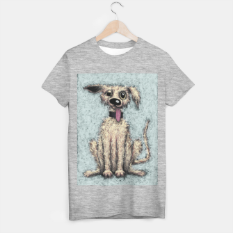 Fluffy the dog T-shirt regular thumbnail image