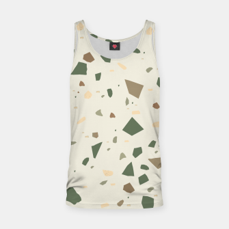 Thumbnail image of Sage Cactus Green Tan Brown Terrazzo #1 #decor #art  Muskelshirt , Live Heroes