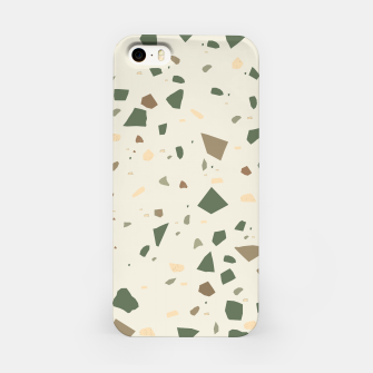 Thumbnail image of Sage Cactus Green Tan Brown Terrazzo #1 #decor #art  iPhone-Hülle, Live Heroes