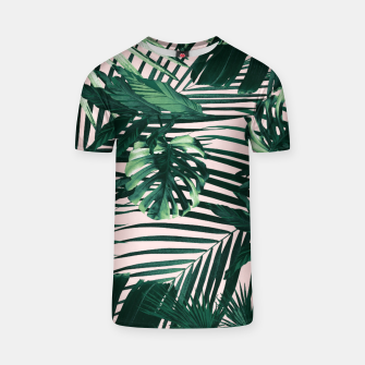Thumbnail image of Tropical Jungle Leaves Siesta #3 #tropical #decor #art  T-Shirt, Live Heroes