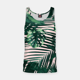 Thumbnail image of Tropical Jungle Leaves Siesta #3 #tropical #decor #art  Muskelshirt , Live Heroes
