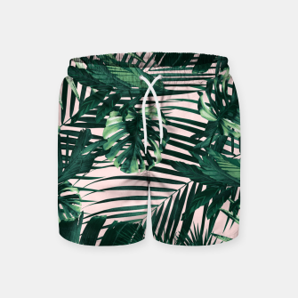 Miniaturka Tropical Jungle Leaves Siesta #3 #tropical #decor #art  Badeshorts, Live Heroes