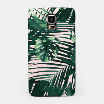 Thumbnail image of Tropical Jungle Leaves Siesta #3 #tropical #decor #art  Handyhülle für Samsung, Live Heroes