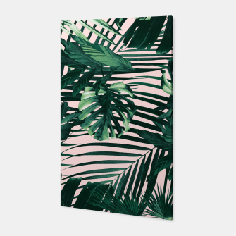 Thumbnail image of Tropical Jungle Leaves Siesta #3 #tropical #decor #art  Canvas, Live Heroes