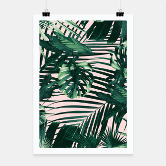 Thumbnail image of Tropical Jungle Leaves Siesta #3 #tropical #decor #art  Plakat, Live Heroes