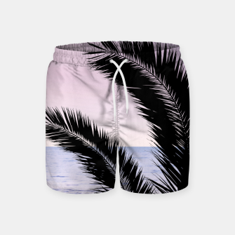 Miniaturka Palm & Ocean Dream #1 #tropical #pastel #wall #decor #art Badeshorts, Live Heroes