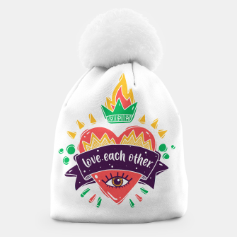 Thumbnail image of Love Each Other Beanie, Live Heroes