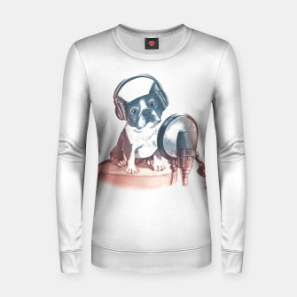 Singer Dog Women sweater thumbnail image