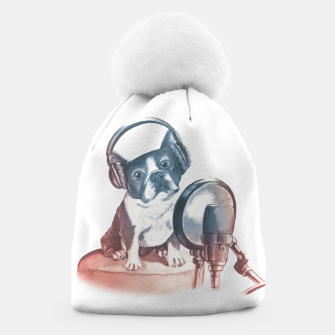Thumbnail image of Singer Dog Beanie, Live Heroes