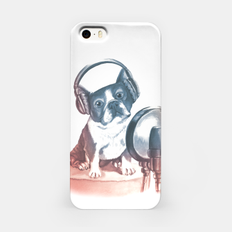 Singer Dog iPhone Case thumbnail image