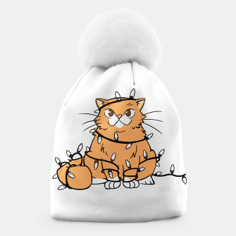 Thumbnail image of Holiday Cat Beanie, Live Heroes