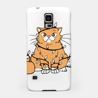 Thumbnail image of Holiday Cat Samsung Case, Live Heroes