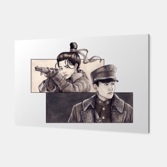 Miniatur Mister Sunshine Fan Art Canvas, Live Heroes