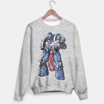 Thumbnail image of Ultramarine Fan Art Sweater regular, Live Heroes