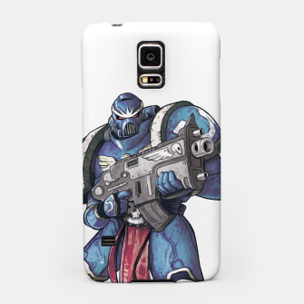 Thumbnail image of Ultramarine Fan Art Samsung Case, Live Heroes