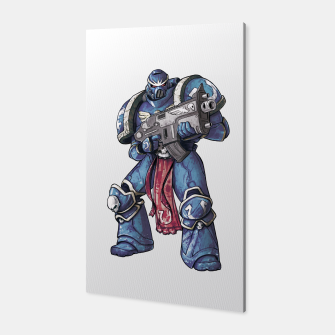 Thumbnail image of Ultramarine Fan Art Canvas, Live Heroes