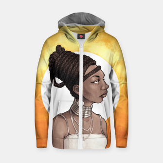 Thumbnail image of Nina Simone Zip up hoodie, Live Heroes