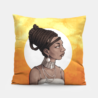 Thumbnail image of Nina Simone Pillow, Live Heroes
