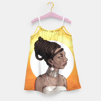 Thumbnail image of Nina Simone Girl's dress, Live Heroes