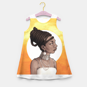 Thumbnail image of Nina Simone Girl's summer dress, Live Heroes