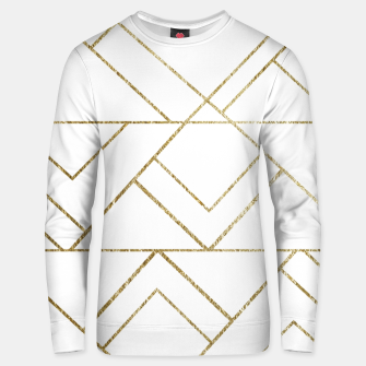 Art Deco Geo Glam #1 #geometric #decor #art  Unisex sweatshirt obraz miniatury
