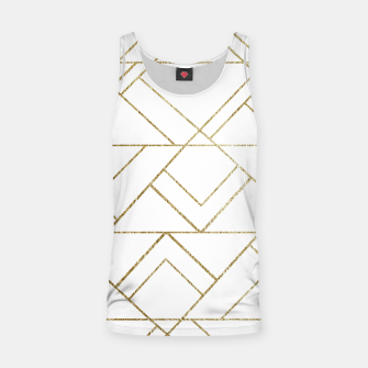Art Deco Geo Glam #1 #geometric #decor #art  Muskelshirt  obraz miniatury