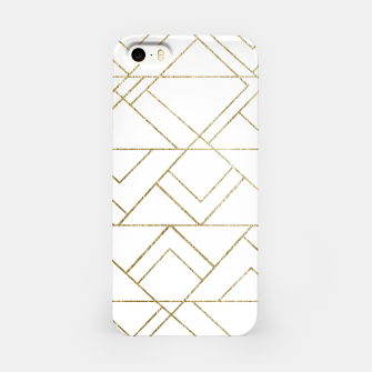 Art Deco Geo Glam #1 #geometric #decor #art  iPhone-Hülle obraz miniatury