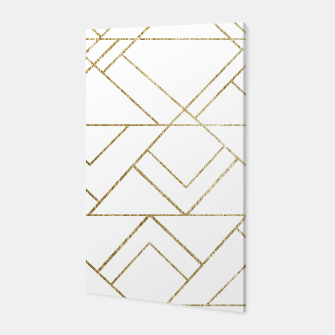 Art Deco Geo Glam #1 #geometric #decor #art  Canvas obraz miniatury