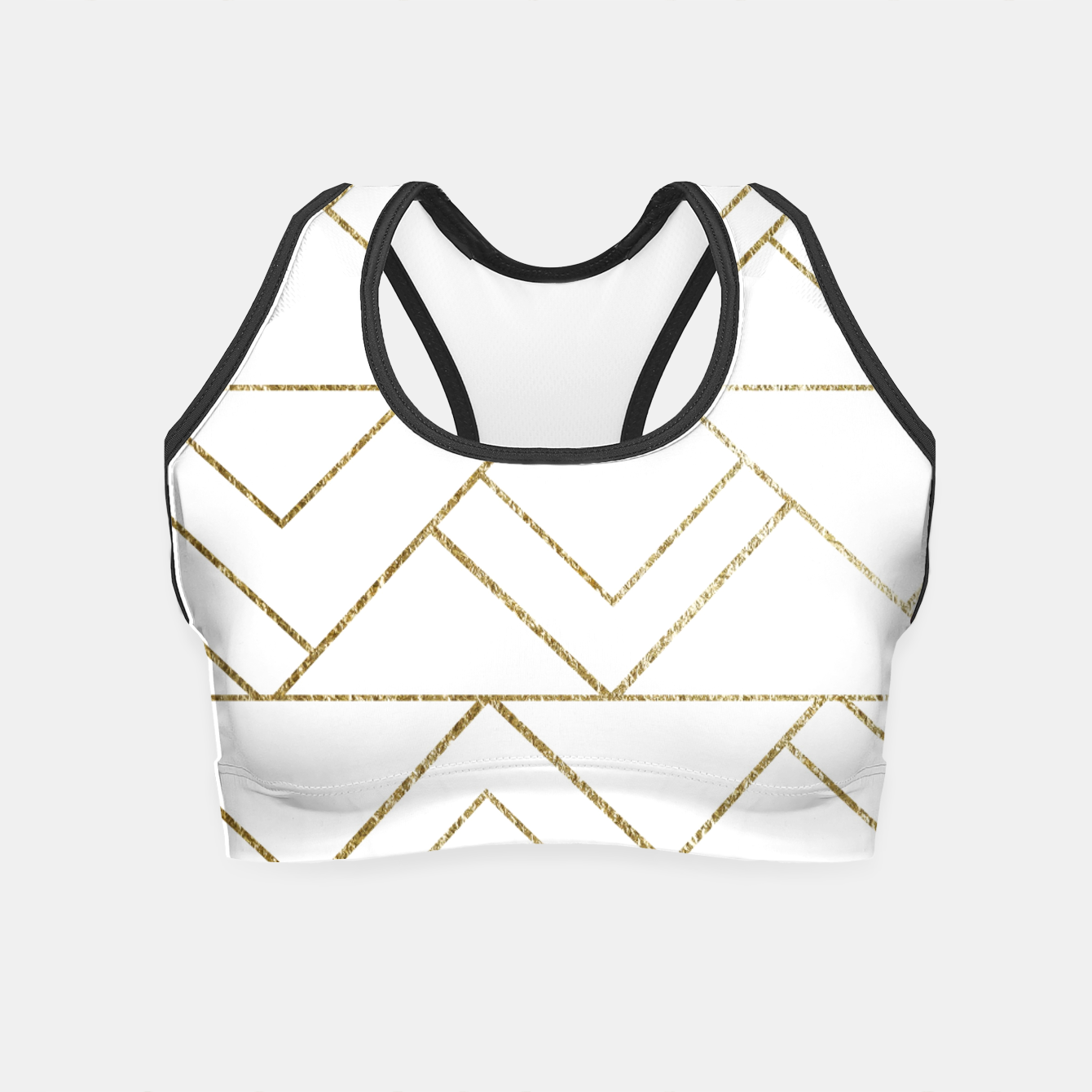Zdjęcie Art Deco Geo Glam #1 #geometric #decor #art  Crop Top - Live Heroes