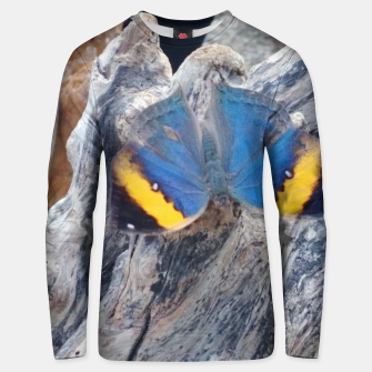 Miniatur amazing butterfly Bluza unisex, Live Heroes