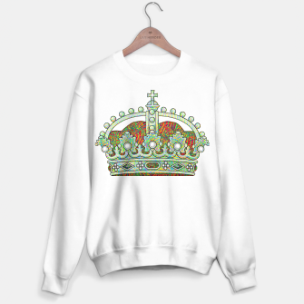 Thumbnail image of crown Sweater regular, Live Heroes