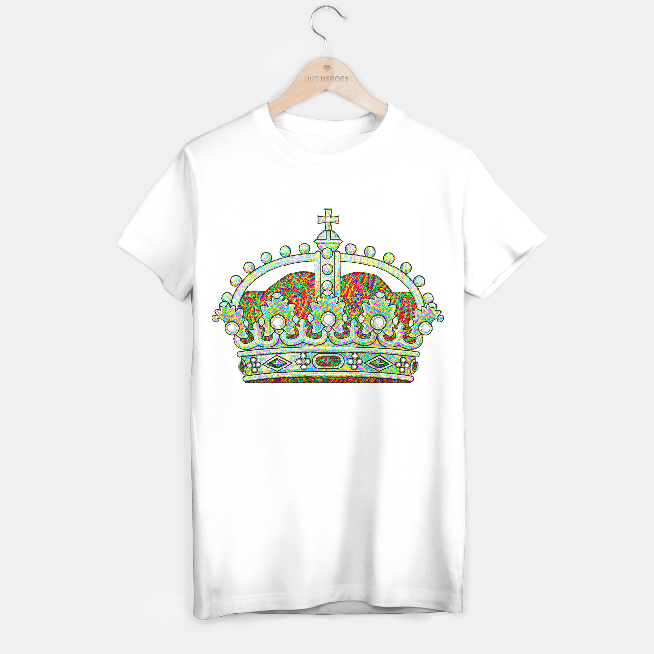Image of crown T-shirt regular - Live Heroes