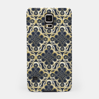 Thumbnail image of Golden Moroccan Tile Glam #2 #pattern #decor #art Handyhülle für Samsung, Live Heroes