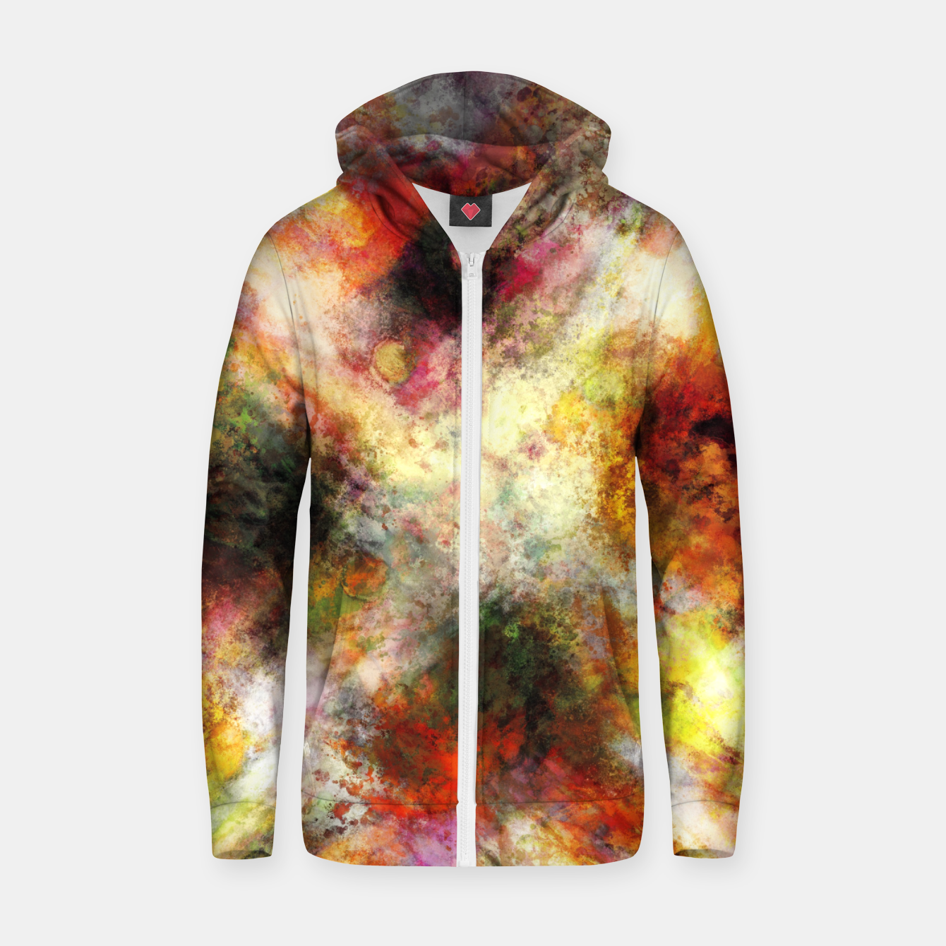 Image of Back to the fires Zip up hoodie - Live Heroes