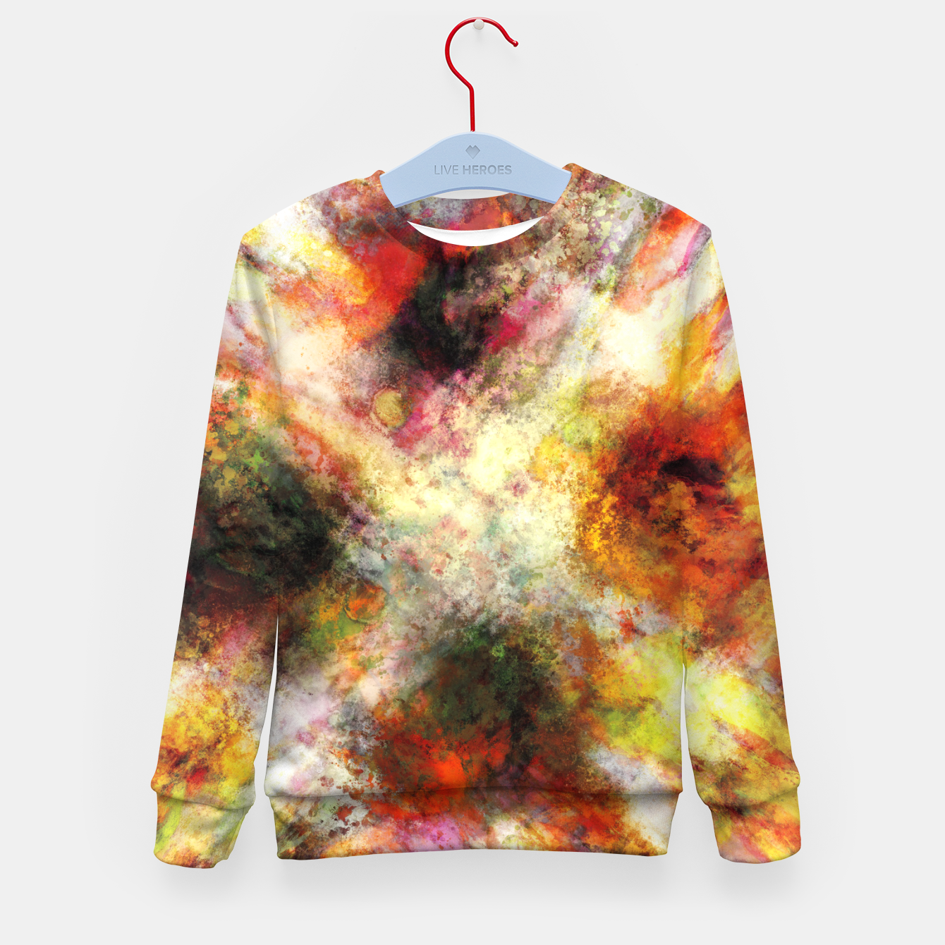 Image of Back to the fires Kid's sweater - Live Heroes