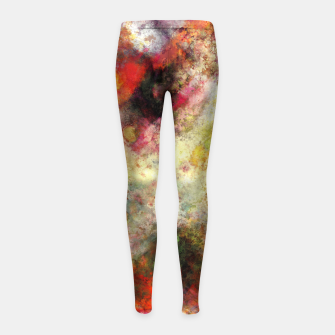 Back to the fires Girl's leggings miniature