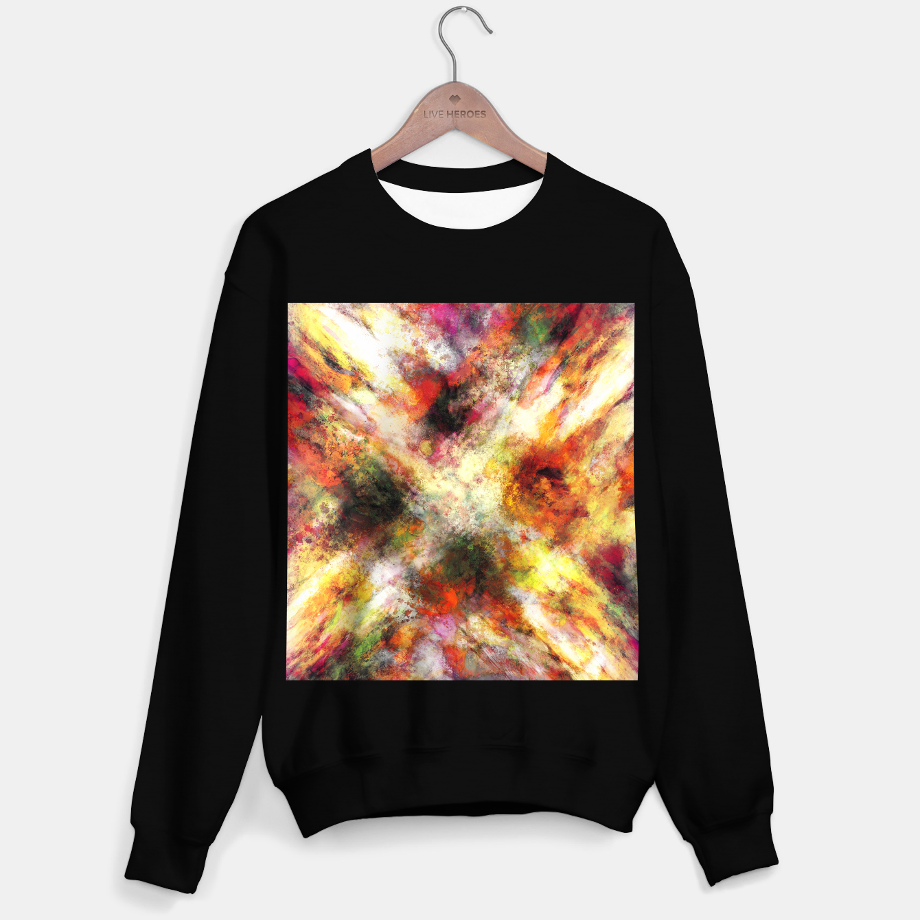 Image of Back to the fires Sweater regular - Live Heroes